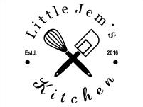 Little Jem's Kitchen Logo Black